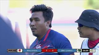 Malaysia vs Sri Lanka Asia Rugby Sevens Series 2018 - Korea Day 2 Live Action