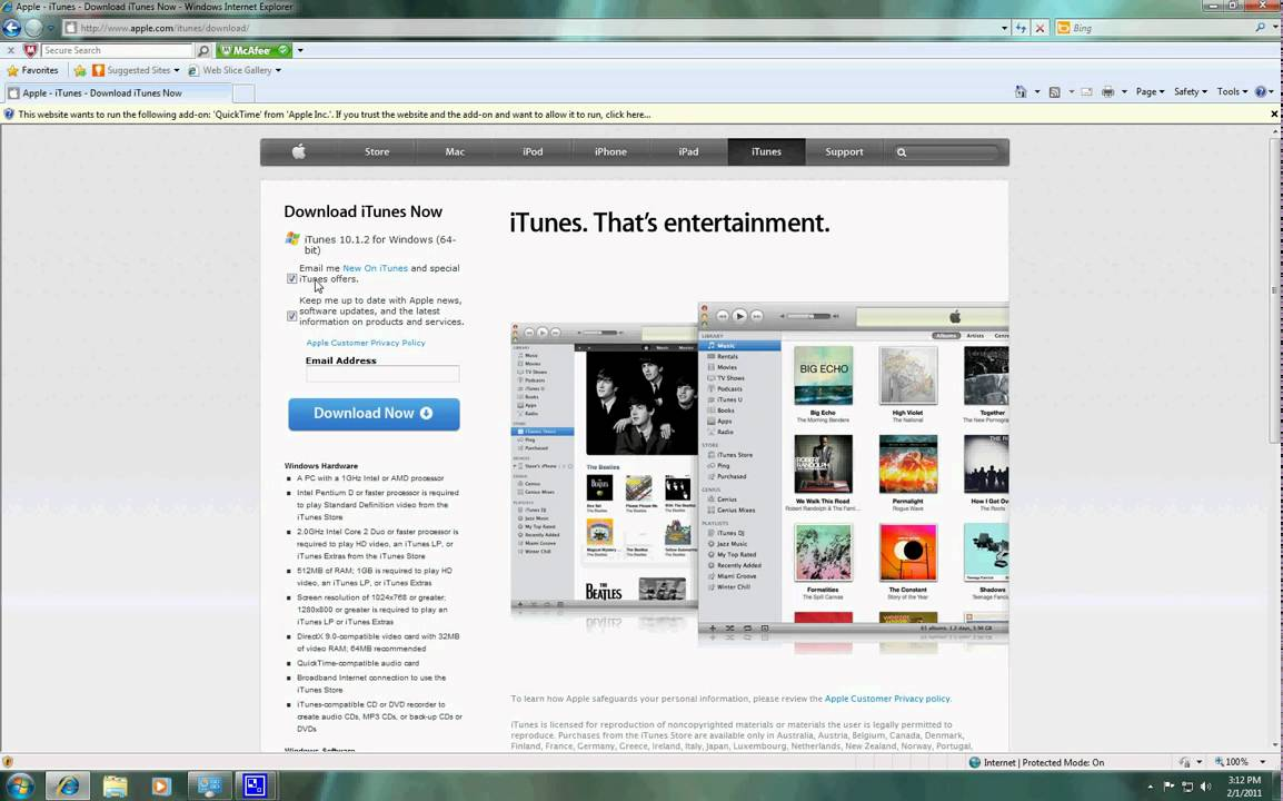 Where to Download iTunes for Bit Windows