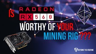BtR - Is RX 560 Worthy of Your Mining Rig???