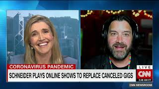 Bob Schneider on CNN -- The King of Austin, Texas, on playing music through a pandemic YouTube Videos