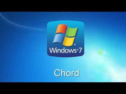 Microsoft Windows 7 all sounds