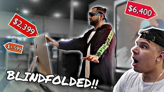 Buying EVERYTHING I Touch Blindfolded (24 HOURS)