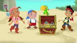 Джейк и пираты Нетландии - все серии подряд (Сезон 1 Серии 1, 2, 3) l Мультфильм про пиратов