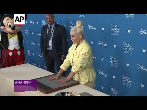 Aguilera: Disney Legend honor is 'cooler than a Grammy'