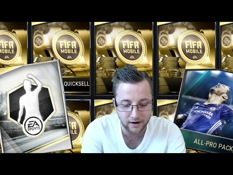 FIFA Mobile Quicksells, In Form Packs, and All Pro Packs!!