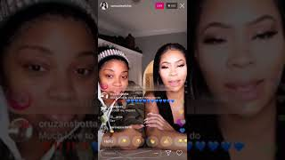 """Reality Star Deelishis singing live """"When your black in entertainment, you will be torn down"""""""