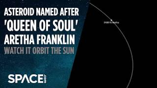 Asteroid Named After Aretha Franklin - See Its Orbit
