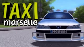 Машина из фильма ТАКСИ в driving zone 2 Lite