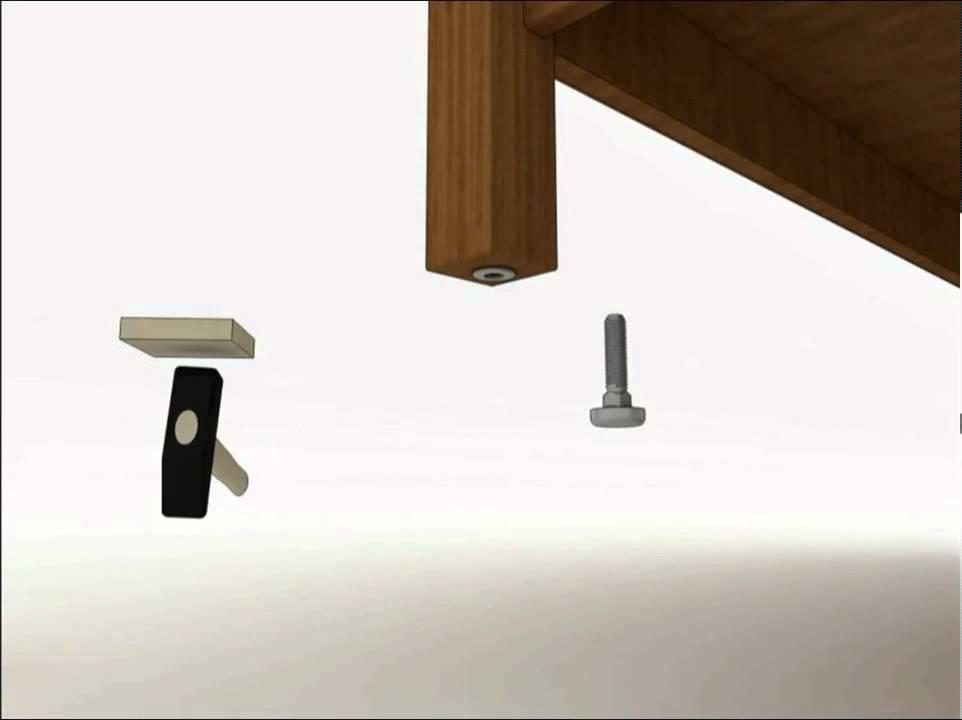 Adjustable Feet Series 290G0 A Good Leveler For Furniture