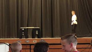 Alex's Demonstration for School Talent Show (6-19-19)