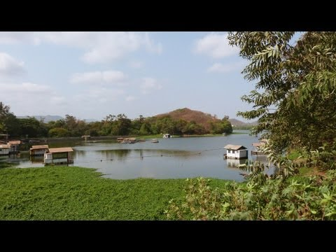 travel india@ beautiful powai lake of bombay,mumbai, maharashtra, india