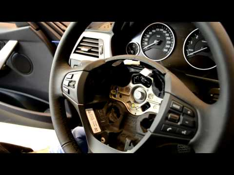 How to remove air bag unit/steering wheel? - BMW 3-Series