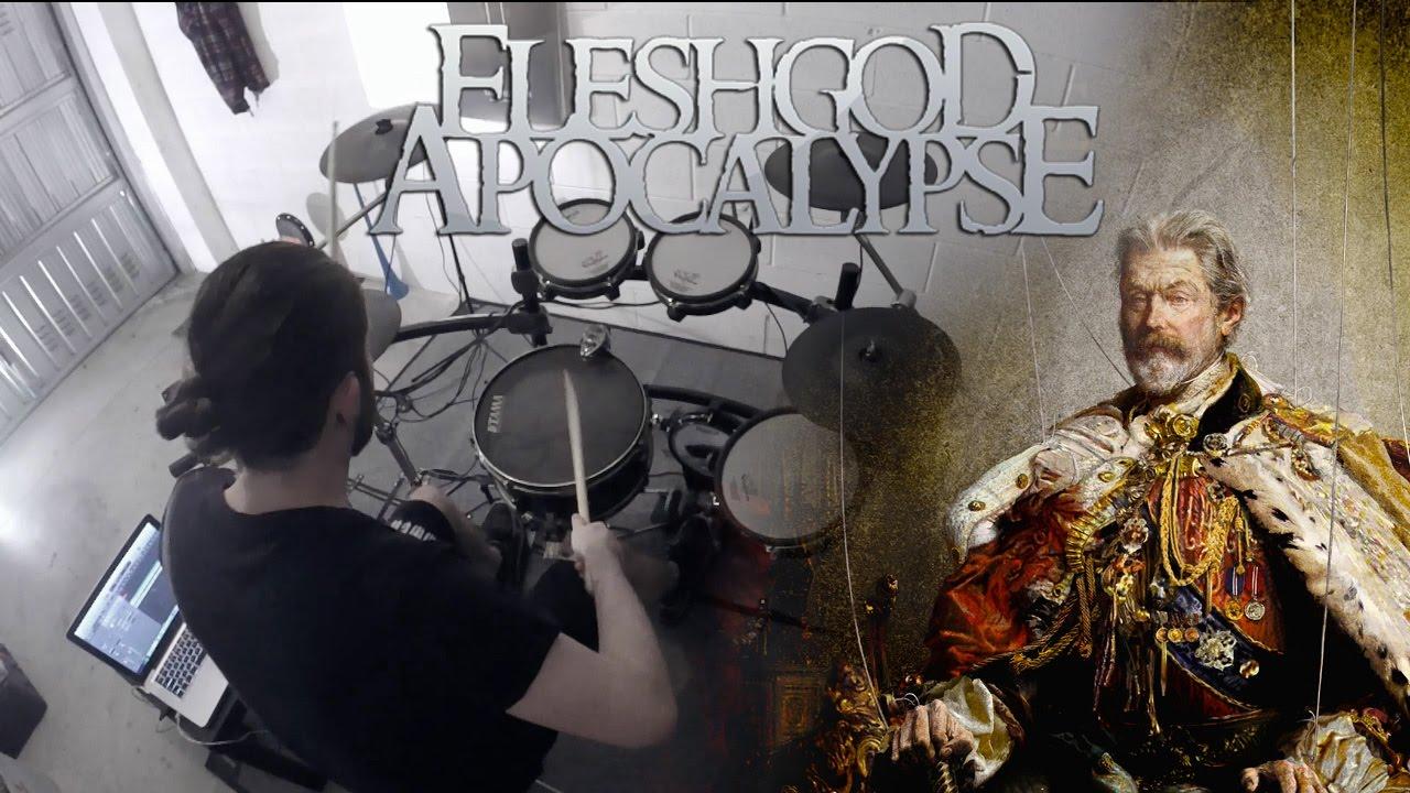 fleshgod-apocalypse-in-aeternum-drum-cover-federico-gatti