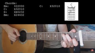 TONES AND I – DANCE MONKEY EASY Guitar Tutorial With Chords / Lyrics