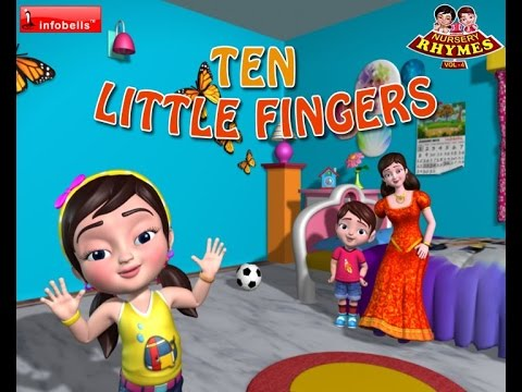Ten Little Fingers Nursery Rhymes for Children
