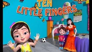 Ten Little Fingers Nursery Rhymes for Children
