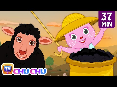 Baa Baa Black Sheep With Cutians | Nursery Rhymes & Cartoon Songs for Kids | ChuChu TV