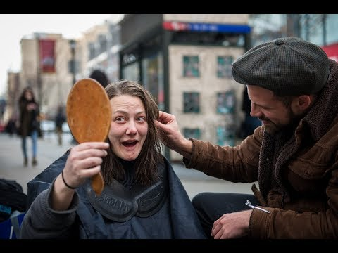 The Hairdresser Giving Free Haircuts To The Homeless