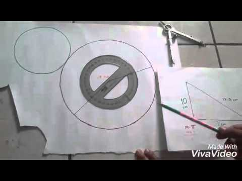 Como hacer el desarrollo plano de un cono truncado youtube for Como puedo hacer un cono