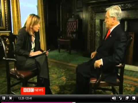President Pinera is interviewed for Hardtalk 2010 (Part 2)