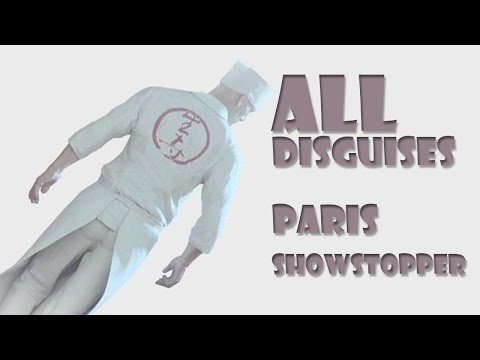 Hitman 2016 Disguises Pc Paris Showstopper All Disguises Chameleon Challenge Youtube