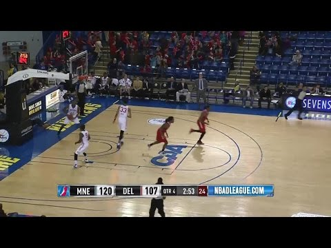 Highlights: Malcolm Miller (28 points)  vs. the 87ers, 2/19/2016