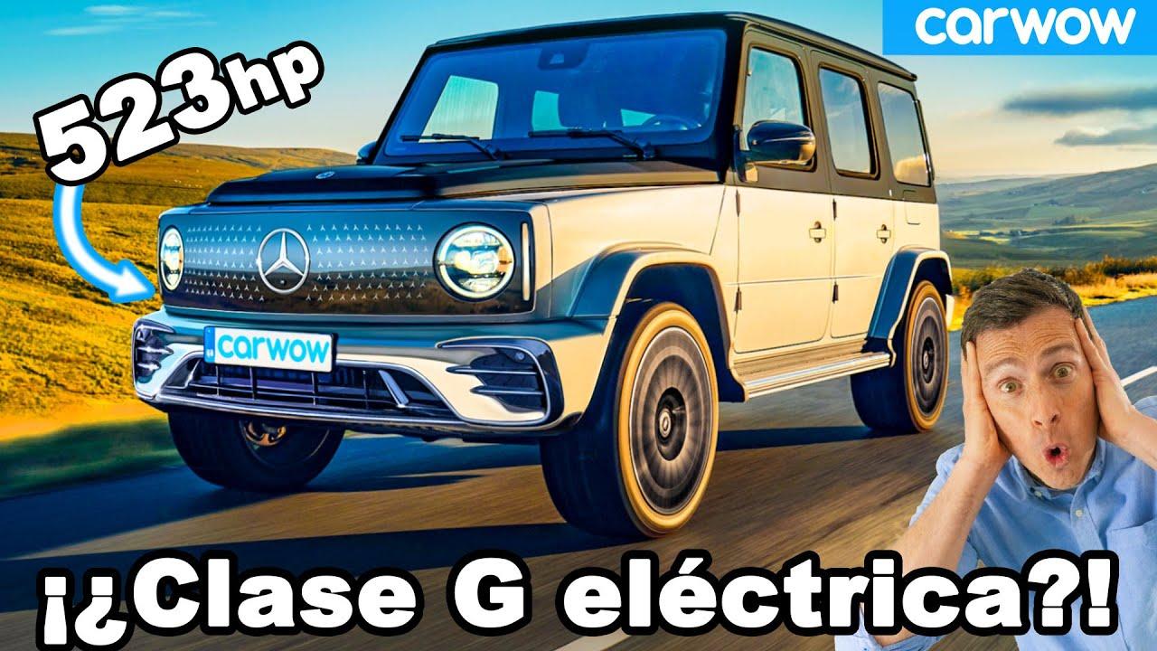 Nuevo Mercedes EQG - ¡la Clase G se hace ELÉCTRICA con 523hp!