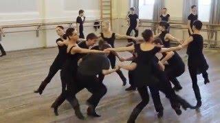 ГААНТ имени Игоря Моисеева. Репетиция класс концерт «Дорога к танцу». Сербский танец
