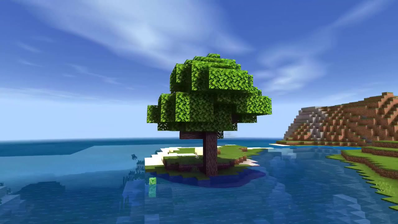 25+ Minecraft Landscape Backgrounds Without Shaders Pictures