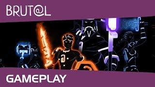 Brut@l - Gameplay (обзор игры по ссылке в описании к видео)