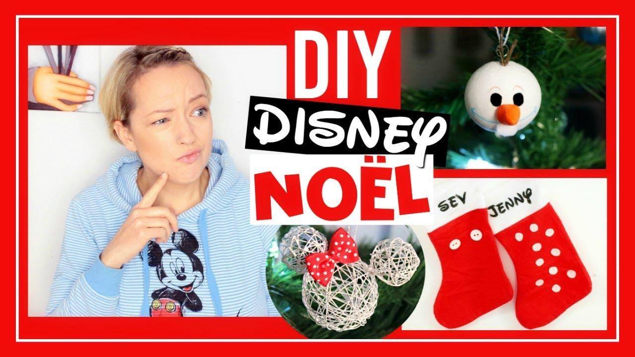 Diy no l facile deco disney diy challenge youtube - Deco noel facile ...