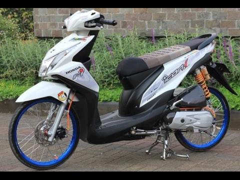 Cah Gagah Video Modifikasi Motor Honda Beat Velg Jari Jari Simple