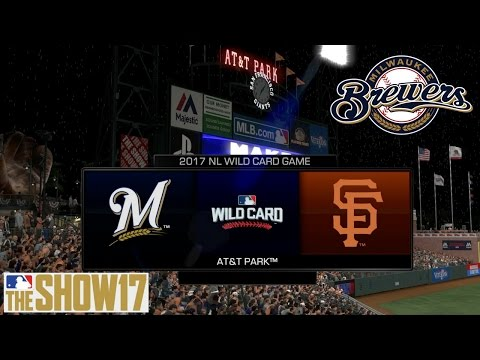 MLB The Show 17 Franchise - Milwaukee Brewers - WIN or Go Home!