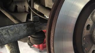 Как выпрессовать палец рулевого наконечника БЕЗ съёмника