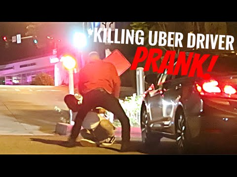 Killing Uber Driver Prank!