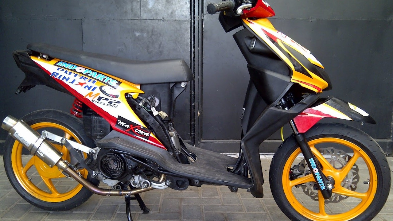 Cah Gagah Video Modifikasi Motor Honda Beat Road Race Keren