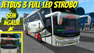 Download Video Review Komplit JETBUS 3 SEIN NGALIR Full STROBO - Mod Bussid MP3 3GP MP4
