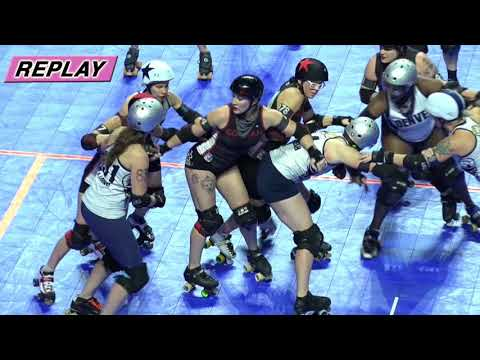 2017 International WFTDA Championships Game 15: Denver Roller Derby vs  Gotham Girls Roller Derby
