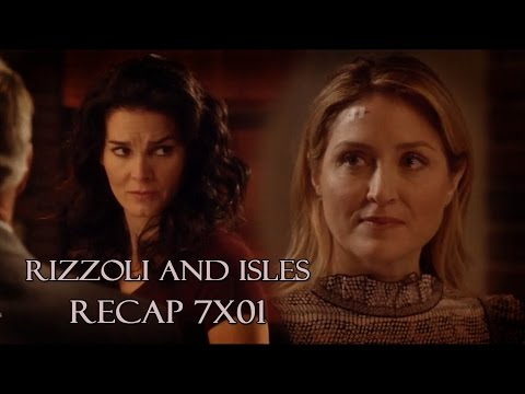 Rizzoli & Isles - 7x01 Two Shots: Move Forward - Stitches