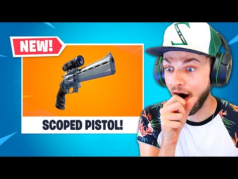 The *NEW* SNIPER PISTOL in Fortnite! thumbnail