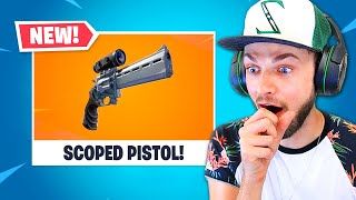 The *NEW* SNIPER PISTOL in Fortnite!