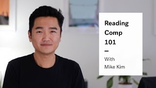 LSAT Reading Comprehension; A Free Reading Comp Lesson From Mike Kim, Author of The LSAT Trainer