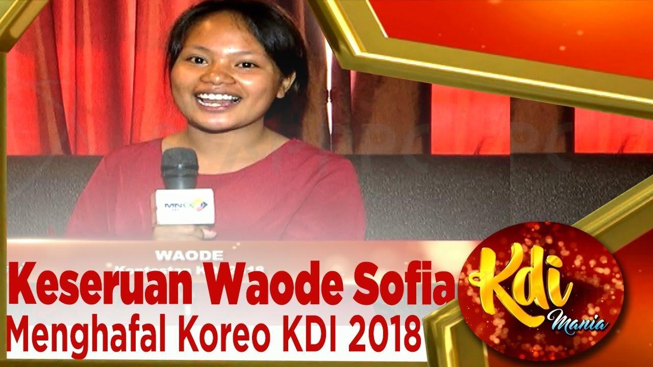 Liat Keseruan Waode Sofia Dan Para Peserta KDI 2018 Menghafal Koreo – KDI MANIA