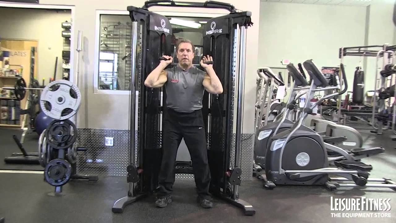 Inspire ft functional trainer total body workout with dr paul
