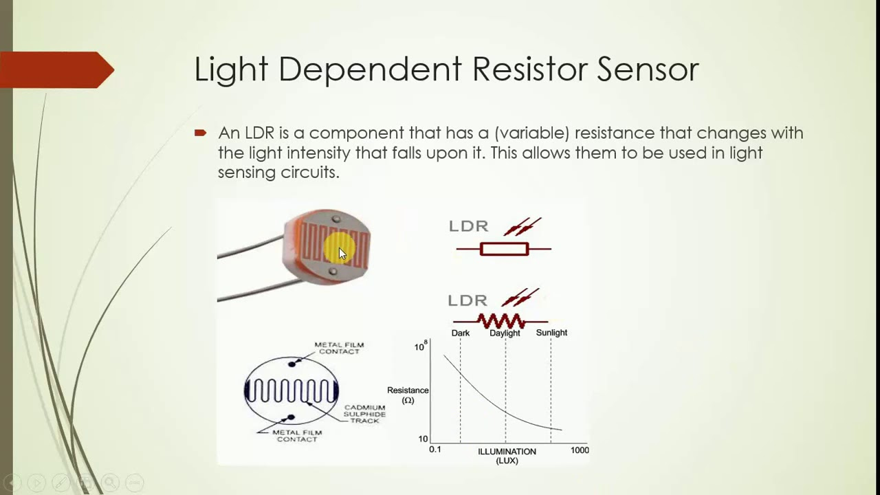 Smart Agriculture - Working of Light Dependent Resistor (LDR) Sensor ...