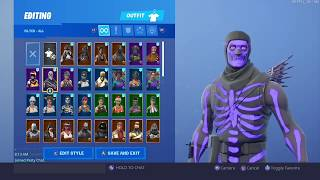 My Fortnite Account Merge (Purple Skull Trooper)