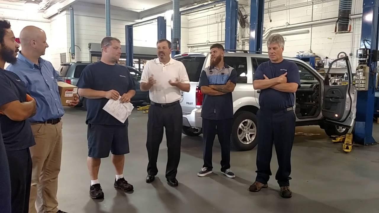 Union Park Honda July Employee of the Month - Craig - YouTube