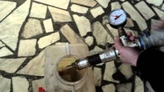 видео Испытание пожарного крана