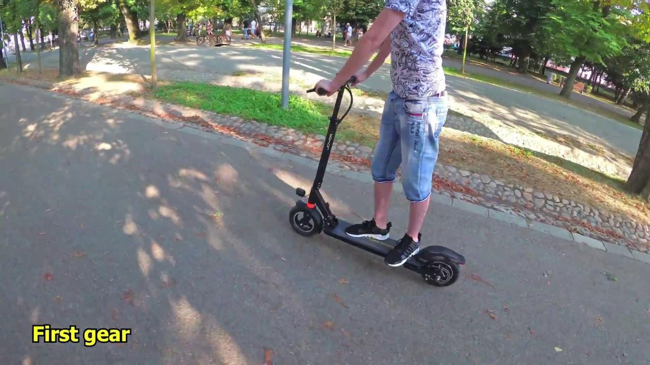 "Electric Scooter - Joyor Y5S (500W, Brushless, 48V, 13Ah, Lithium 18650,  10"", 50km, Disc Brake)"