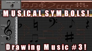 MUSICAL SYMBOLS! | Drawing Music #3!